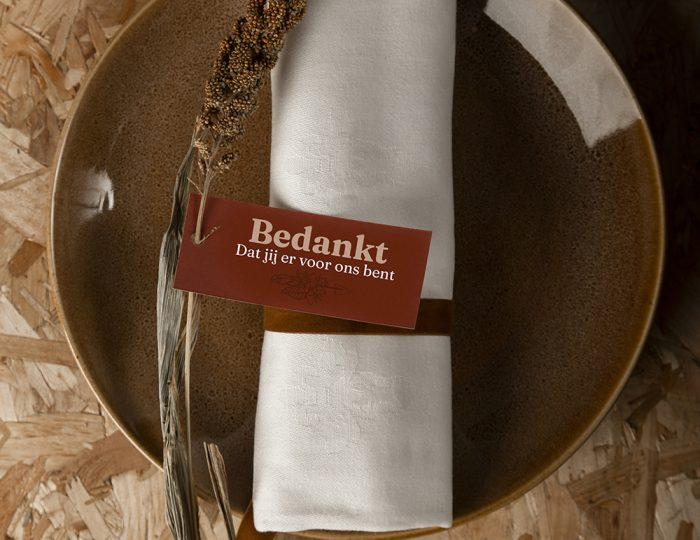 Personaliseer je diner