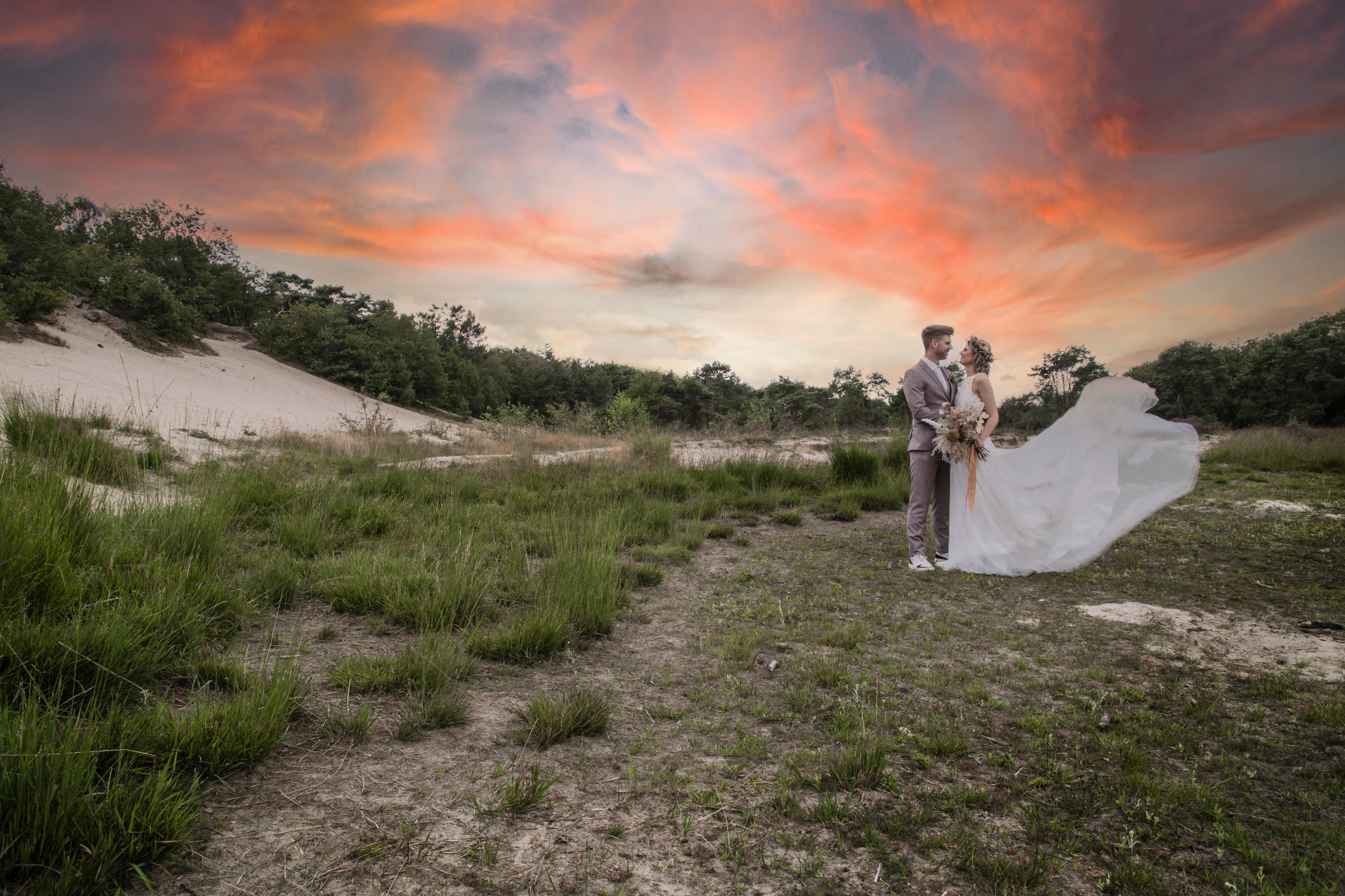 Bruidsreportage Maashorst